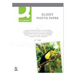 Fotópapír tintasugaras Q-Connect KF01905 10x15cm 180g 25ív fényes