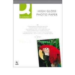 Fotópapír tintasugaras Q-Connect KF02163 A/4 260g 20ív fényes