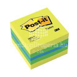 Post-it 2051L 51x51mm 400lap mini kocka citrus