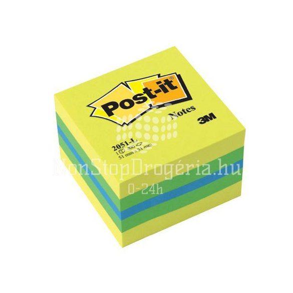 Post-it 2051L 51x51mm 400lap mini kocka citrus
