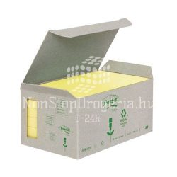 Post-it 655-1B 76x127mm 6x100lap/csm GreenLine sárga