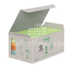 Post-it 655-1GB 76x127mm 6x100lap/csm GreenLine vegyes