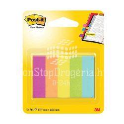 Post-it Jelölőlapok12,7 x 44,4mm, 5 x 50 lap  (neon színek) 670-5CA-EU