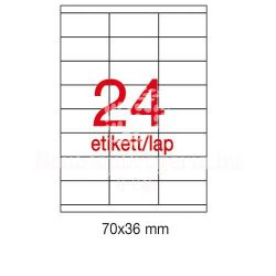 Etikett A1298 36x70mm 100ív Apli
