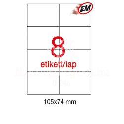 Etikett A1796 74x105mm 500ív Apli