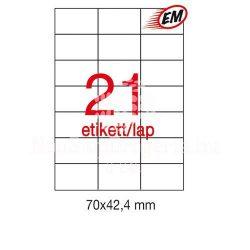 Etikett A1779 42,4x70mm 500ív Apli