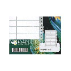 Etikett 88,9x23mm/2 24cimke/ív 500ív/doboz