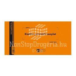 Kiadási pénztárb. 25x2lap B.318-103/V Pátria