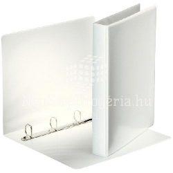 Gy.könyv A/4 4gy. 40mm panorámás 49702 fehér