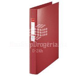 Gy.könyv A/4 4gy. 35mm címketartós 144..