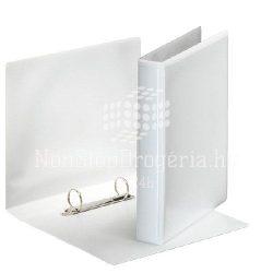 Gy.könyv A/5 2gy. 47mm panorámás 46571 fehér