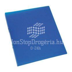 Gyűrűskönyv A/4 4gyűrűs 20mm Standard PP Q-Connect kék