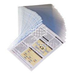 Genotherm A/4 lefűzhető víztiszta 100 mikron KF14841