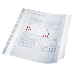 Genotherm A/4 lefűzhető oldaltnyitott füles 10db 17939 100mikron