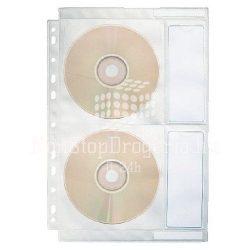 CD tartó tasak 4db-os lefűzhető 67668