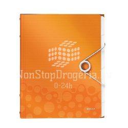 Rendezőmappa  6 részes  műanyag WOW 463300..