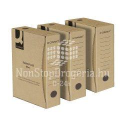 Archiváló doboz 80mm natúr Q-Connect KF15832