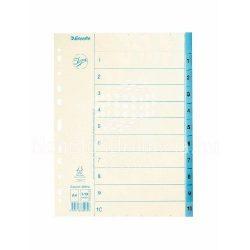 Regiszter A/4 1-10 papír 56116/69872/69912