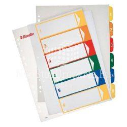 Regiszter  A/4 MAXI 1-6 nyomtatható 100212