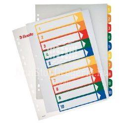 Regiszter A/4 MAXI  1-10 nyomtatható 100213