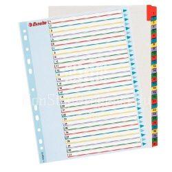Regiszter újraírható Esselte A4 1-31 részes 100210