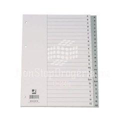 Regiszter A/4 A-Z PP maxi KF01843
