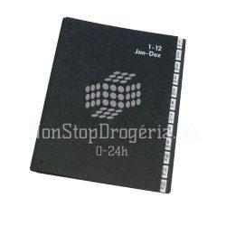 Rendezőkönyv  1-12 fekete KF04562
