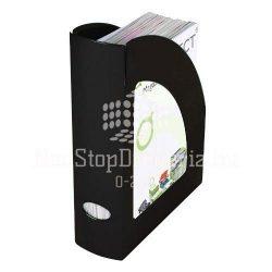 Iratpapucs műanyag Q-Connect fekete