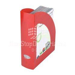 Iratpapucs műanyag Q-Connect piros