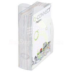 Iratpapucs műanyag Q-Connect átlátszó