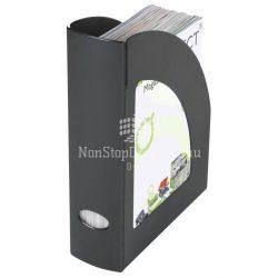 Iratpapucs műanyag Q-Connect füst