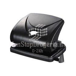 Lyukasztó Q-Connect Medium duty 816P/820P/9104 fekete