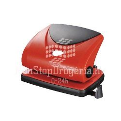 Lyukasztó Q-Connect Medium duty 816P/820P/9104 piros