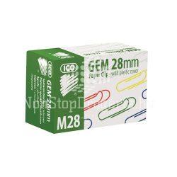 Gemkapocs 28mm/100db színes M28-100