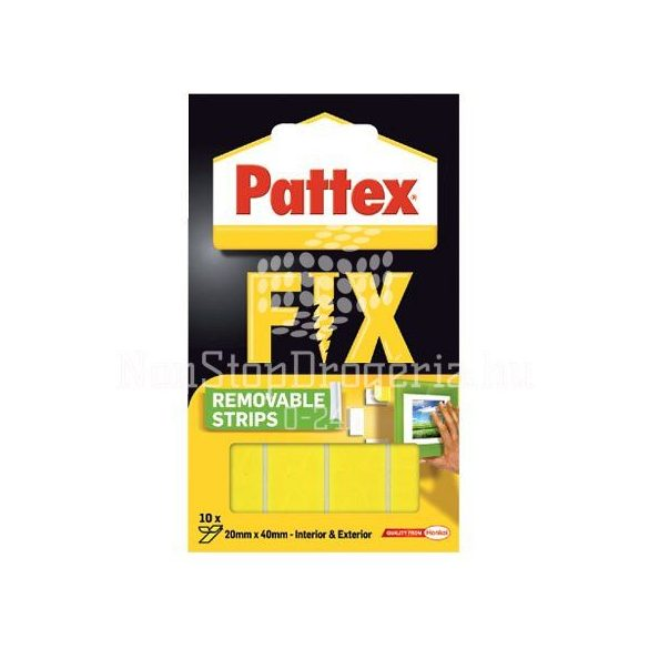 Rag.szalag montázs Pattex Super Fix 1684211 80kg