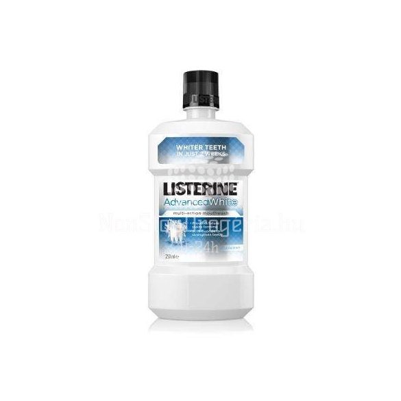 LISTERINE 250ML ADVENCED WHITE