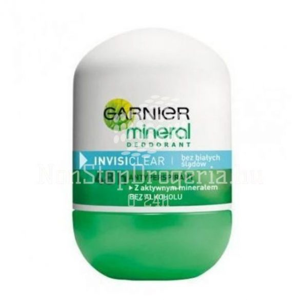 Garnier Mineral Roll 50ml Invisi Clear