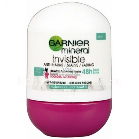 Garnier Mineral Roll 50ml Invisible