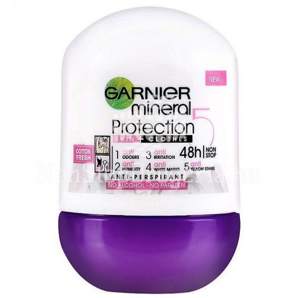 Garnier Mineral Roll 50ml Protection5 Cotton fresh