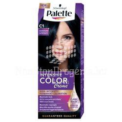 Palette hajfesték Intensive Color Creme C 1 zafír fekete
