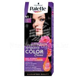 Palette hajfesték Intensive Color Creme N 1 ónix fekete
