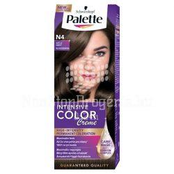 Palette hajfesték Intensive Color Creme N 4 világosbarna