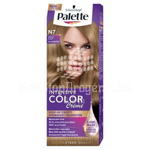 Palette hajfesték Intensive Color Creme N 7 világos szőke