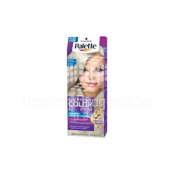 Palette hajfesték Intensive Color Creme C 9 ezüstszőke