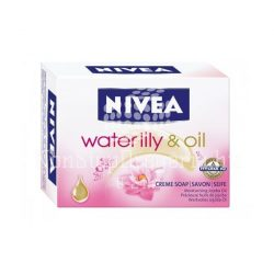 NIVEA SZAPPAN 100GR WATER LILY OIL