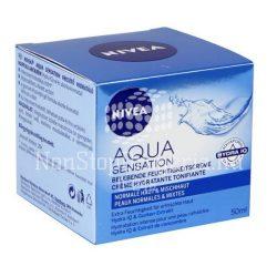 Nivea Aqua Sensation Hidratáló Arcápoló Gél-krém 50ml