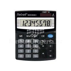 Számológép Rebell SDC808+/SDC408 asztali