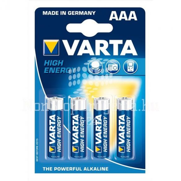 VARTA HIGH ENERGY AAA LR03 4db