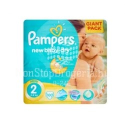 PAMPERS ACTIVE BABY DRY PELENKA MINI 3-6KG 100DB