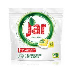 Jar All In One mosogatógép kapszula 24db Yellow